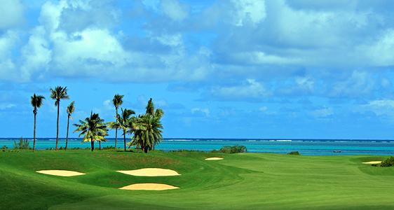 Golf-Anfänger im Paradis GolfClub