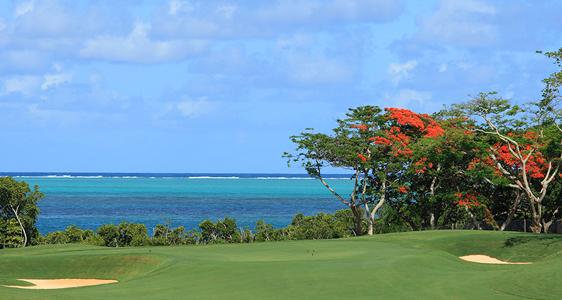 Golfen zwischen Lagunen