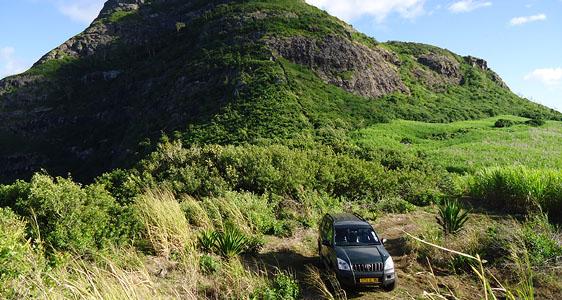 Mauritius im Geländewagen
