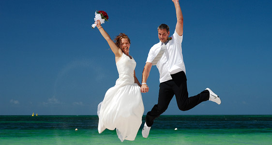Die Braut flittert zum Nulltarif