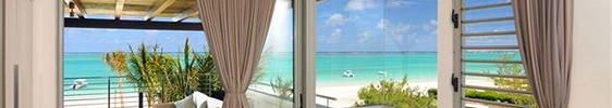 Haus am Strand, Blick aufs Meer