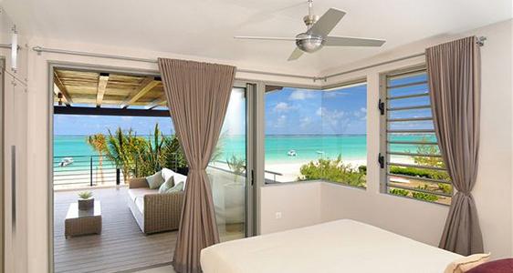 Haus am Strand, Blick aufsMeer