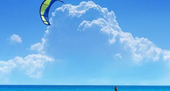 Ein Paradies zum Kitesurfen