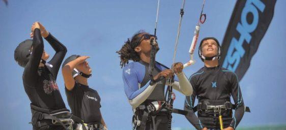 Kitesurf- und Paddleboard-Schule