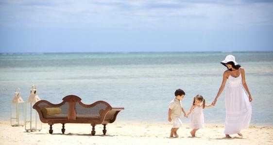 In den Heritage Resorts haben Eltern Pause