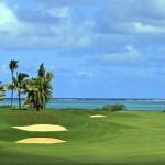 Golfen auf Mauritius